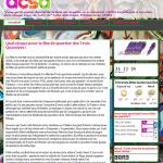 Capture d'écran blog acsa
